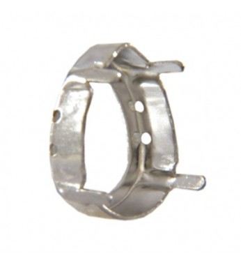 f9c3500b4107d ОПРАВА Swarovski 4320/S, серебро. Артикул: 45069897. Остаток на складе: 10.  Размер. 10х7мм, 18х13мм