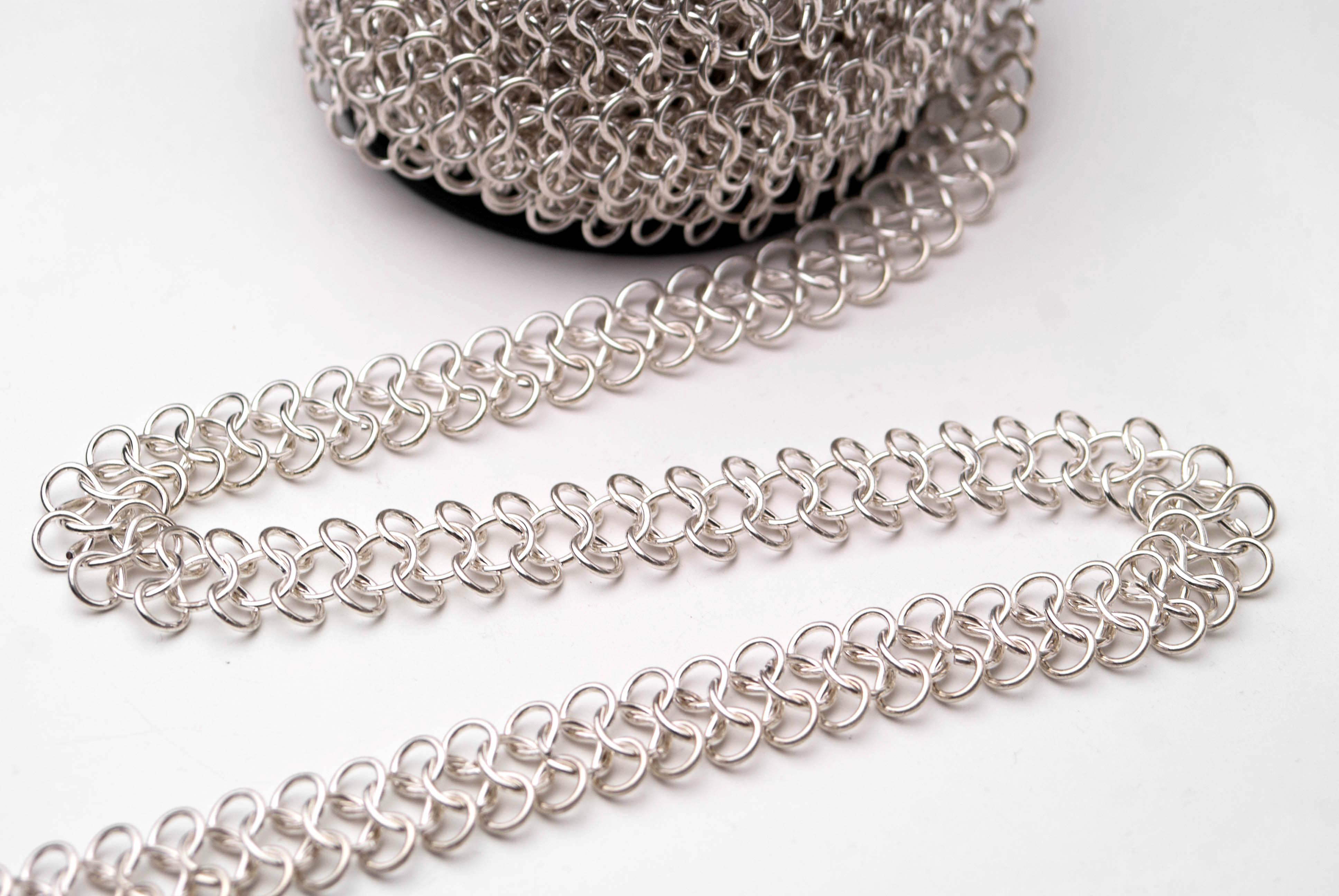Плетение по серебру своими руками 440
